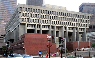 Boston City Hall - A view from the north