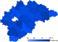 2017 Novgorod Oblast gubernatorial election map.png