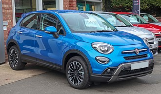 Fiat 500X - Fiat 500X Cross Look (facelift)