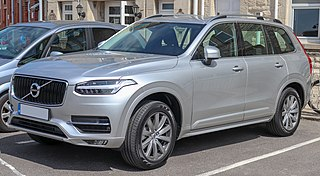 Volvo XC90 car model made by Volvo Cars