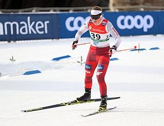 Monika Skinder Polish cross-country skier