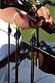 211000 - Archery Australian arrows equipment - 3b - Sydney 2000 match photo.jpg