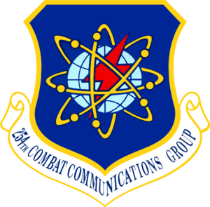 254th Combat Communications Group - 254th Combat Communications Group emblem