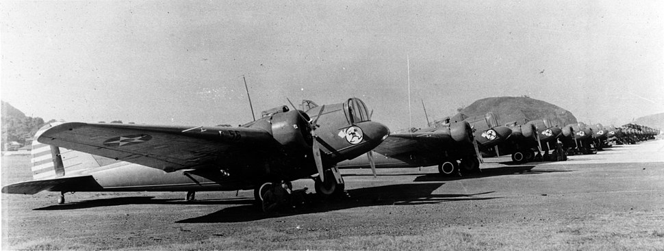 25th Bombardment Squadron B-10s