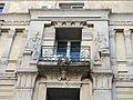 260 Antiga clínica Sabaté (Tortosa), relleus egipcis de la façana.JPG