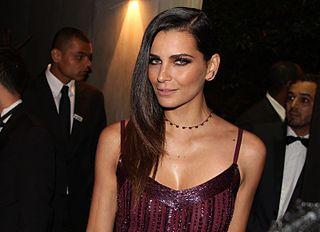Fernanda Motta Brazilian model and television host