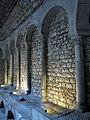 388 Banys Àrabs de Girona, arcades de l'apodyterium.JPG
