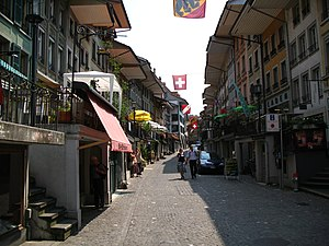 Thun - Street in the Old Town