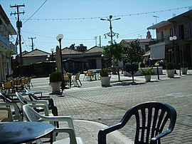 Village square of Aris