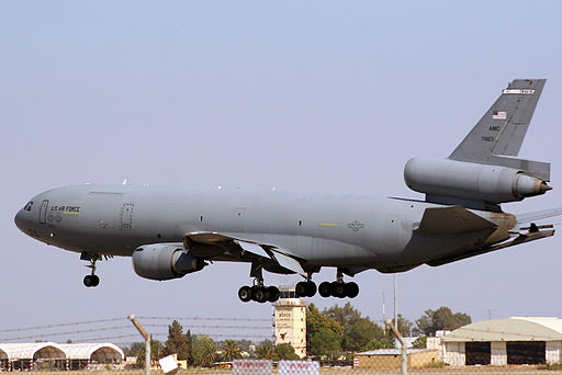 60th Air Mobility Wing McDonnell Douglas KC-10A Extender 87-1023