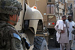82nd Airborne Division soldier secures area in Kandahar City DVIDS483319.jpg
