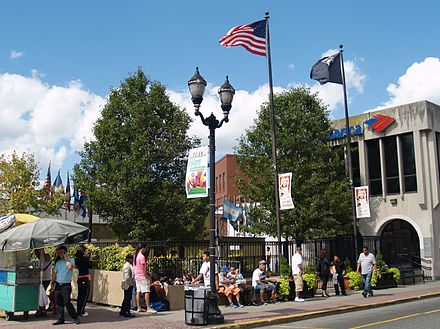 Celia Cruz Plaza in Union City, New Jersey 9.7.14CeliaCruzParkByLuigiNovi.jpg
