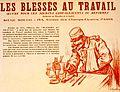 A. Galland, les Blessés au travail - 1914.jpg