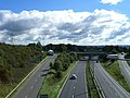 A34 Junction with A500 - geograph.org.uk - 234767.jpg