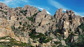 Gabilan Range - Gabilan Mountains in Pinnacles National Park