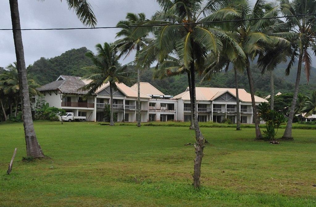 ABANDONED SHERATON HOTEL, RAROTONGA, COOK ISLANDS