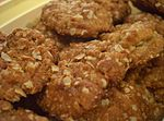 ANZAC biscuits, made without coconut