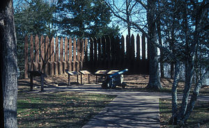 National Register of Historic Places listings in Arkansas County, Arkansas - Image: ARKANSAS POST NATIONAL MEMORIAL