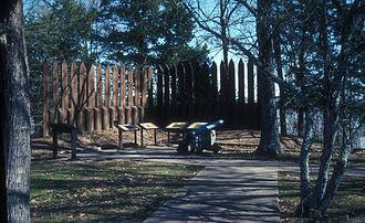 National Register of Historic Places listings in Arkansas County, Arkansas - Image: ARKANSAS POST NATIONAL MEMORIAL