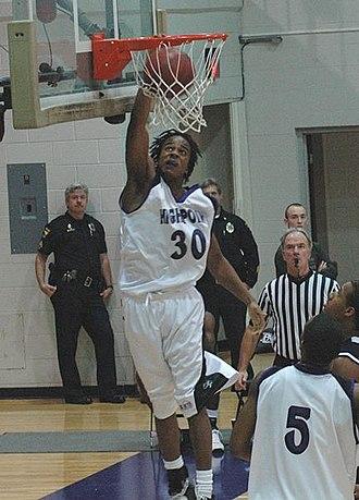 Arizona Reid - Reid playing for High Point in 2007