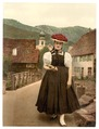 A Girl of the Black Forest, Black Forest, Baden, Germany-LCCN2002713565.tif