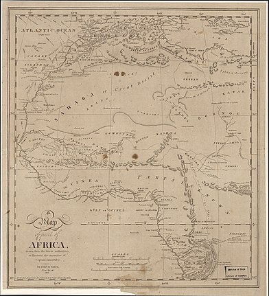 A Map of part of Africa - drawn by the latest authorities to illustrate the narrative of Captain James Riley LOC 2009583840.jpg