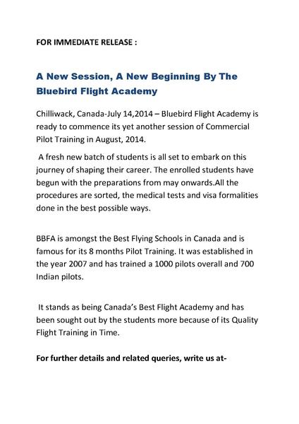File:A New Session,A New Beginning By The Bluebird Flight Academy.pdf