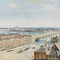 A Panoramic View of London, from the Tower of St. Margaret's Church, Westminster (detail 03, St Paul's Cathedral).jpg