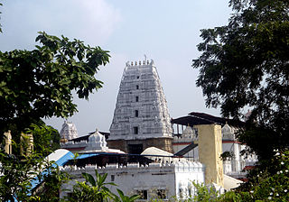 Bhadrachalam Temple town in Telangana, India