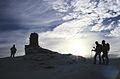 A cairn near the summit of Creag MacRanaich - geograph.org.uk - 923353.jpg