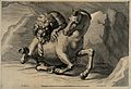A lion attacking a horse Wellcome V0050695.jpg