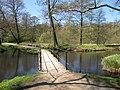 A small bridge in Frederiksborg slotpark.JPG