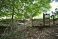 A stile on the edge of Blackwell Wood - geograph.org.uk - 2064551.jpg