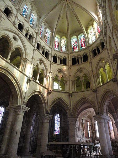 Abside de l'Abbatiale Saint-Pierre-et-Saint-Paul de Montier-en-Der