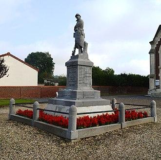 Achery, Aisne - Achery War Memorial