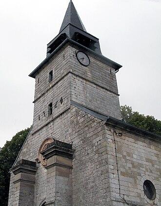 Acheux-en-Amiénois - The church of Acheux-en-Amiénois