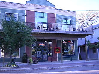 Ada Township, Michigan - Street scene in the village