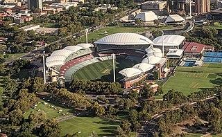 Adelaide Oval Stadium in Adelaide, South Australia