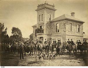 Adelaide Hunt Club - Adelaide Hunt Club in 1870