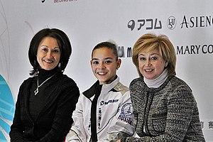 Elena Vodorezova - Vodorezova-Buianova with Adelina Sotnikova and Irina Tagaeva