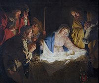 Adoration of the shepherds, by Gerard van Honthorst.jpg