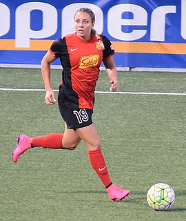 Adriana Leon Canadian soccer player