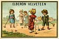 Advertising card depicting children playing croquet on the sand (14594967511).jpg
