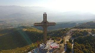 Millennium Cross Cross in North Macedonia