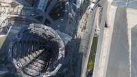 Няйф:Aerial View of The Vessel at Hudson Yards, New York City.webm