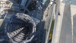 Файл:Aerial View of The Vessel at Hudson Yards, New York City.webm