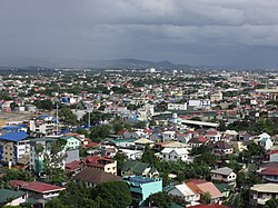 Aerial view of San Isidro, Cainta
