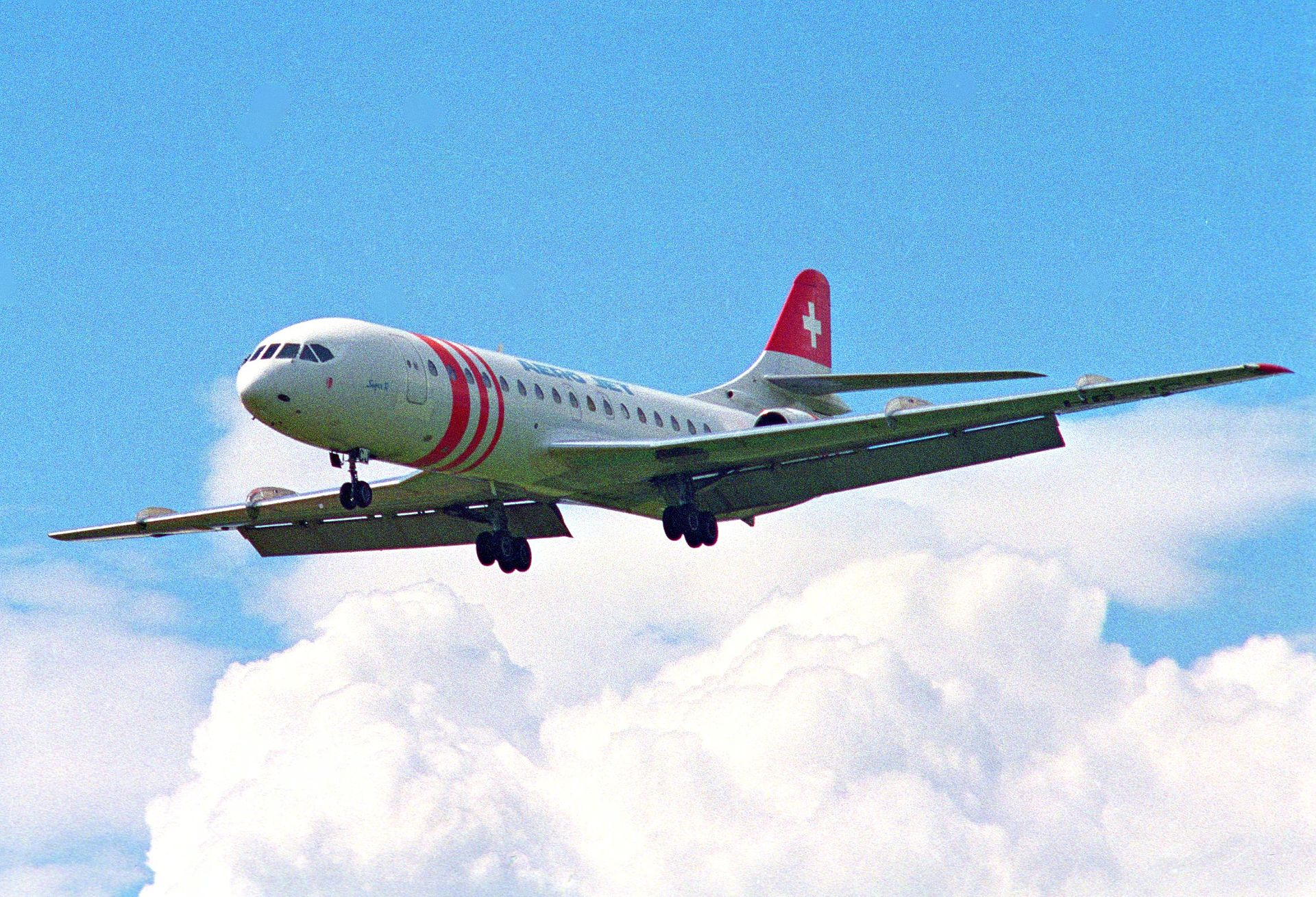 Sud Aviation Caravelle Wikimedia Commons