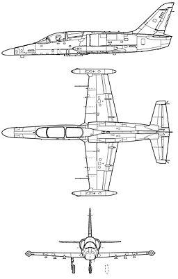 Aero L-159 Alca scheme
