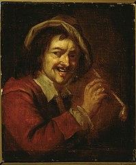 Pipe-smoking man